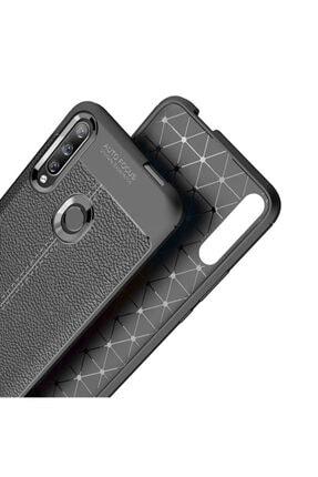 CaseUp Huawei Honor 9x Kılıf, Niss Silikon Lacivert 4