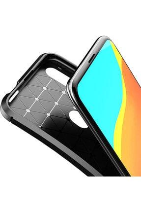CaseUp Huawei Honor 9x Kılıf, Fiber Design Lacivert 2