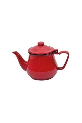 Nurgaz Campout Emaye Çaydanlık Set Kırmızı 1