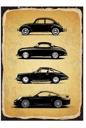 Tablomega Siyah Arabalar Mdf Poster 25cm X 35cm 0