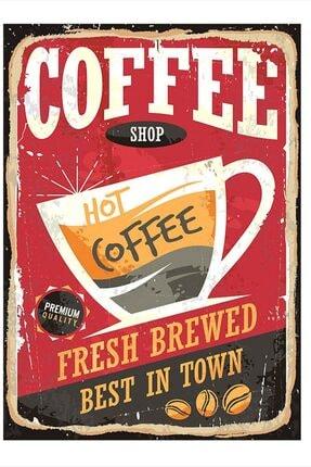 Tablomega Kahve Desenli Mdf Tablo 35cm X 50cm 0