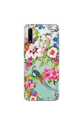 Cekuonline Oppo A31 Kılıf Temalı Resimli Silikon Telefon Kapak - Kuş Cenneti 0