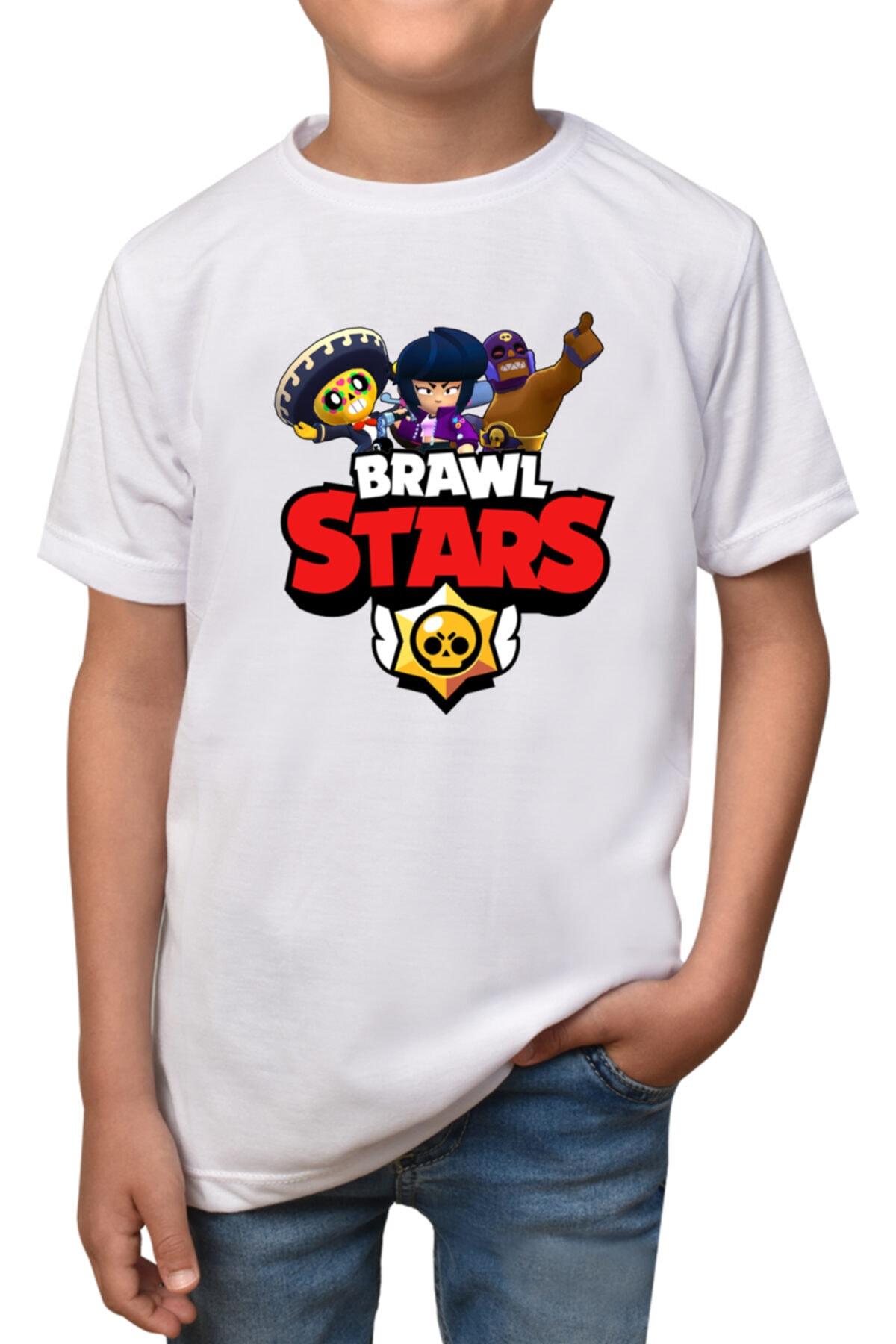 Brawl Stars - Beyaz Çocuk - T-shirt T-9