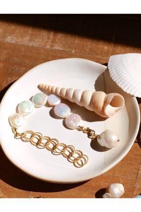 Linya Jewellery Kadın Sery Barok Inci Bileklik 1