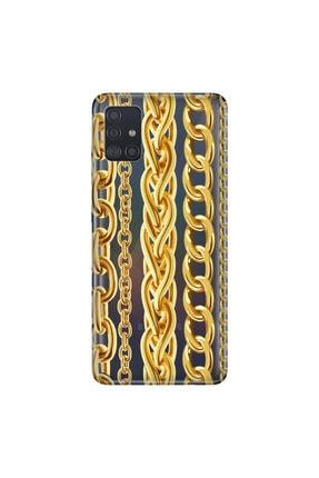 Cekuonline Samsung Galaxy A31  Rich Temalı Resimli Silikon Telefon Kapak 0