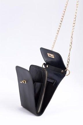 Espardile Kadın Askılı Mini Çanta 4
