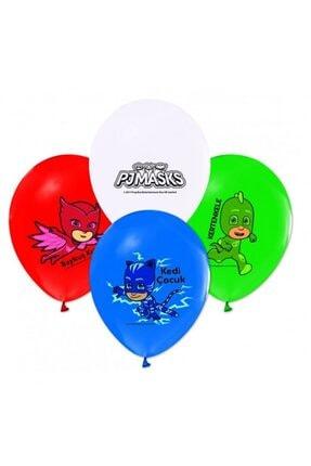 BalonEvi Pija Maskeliler Lisanslı Balon 10 Adet 0