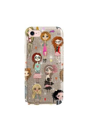 cupcase Iphone 5 Kılıf Simli Parlak Kapak Altın Gold Renk - Stok715 - Kolej Modası 0