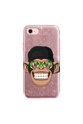 cupcase Iphone 5 Kılıf Simli Parlak Kapak Pembe Rose Gold - Stok149 - Cool Maymun 0