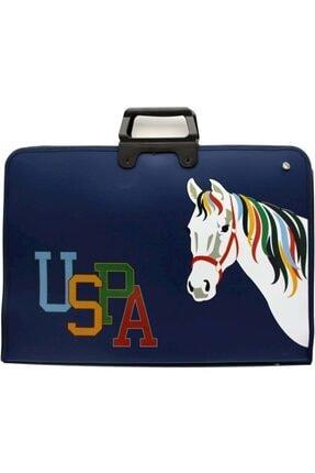 US Polo Assn Unisex Lacivert Çizim Çantası 0