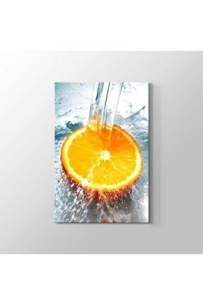 TabloHane Fresh Orange Kanvas Tablo 0