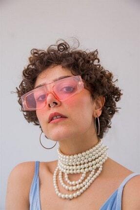 Bilge Karga Kadın Pembe Naples Güneş Gözlüğü 3