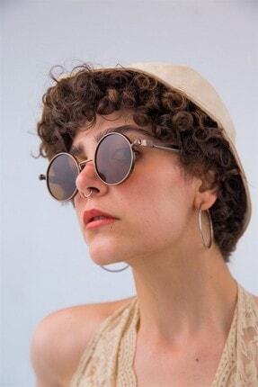 Bilge Karga Kadın Kahverengi Güneş Gözlüğü 2