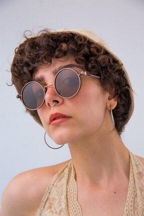 Bilge Karga Kadın Kahverengi Güneş Gözlüğü 3