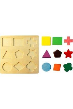 HAMAHA Bircan Ahşap Eşleştirmeli Puzzle 1