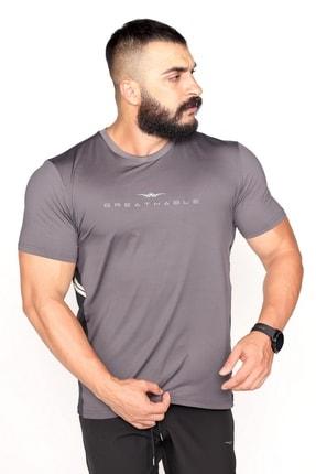 Bessa Sport Garnili Ter Tutmayan Kumaş Reklektif Baskı Spor T-shirt 1