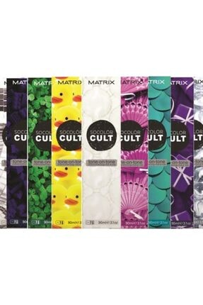Matrix Socolor Cult Tone On Tone Saç Boyası 90ml 0