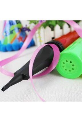 epazzar Çift Taraflı Hızlı Balon Şişirme Plates Topu Şişirme Pompası 2
