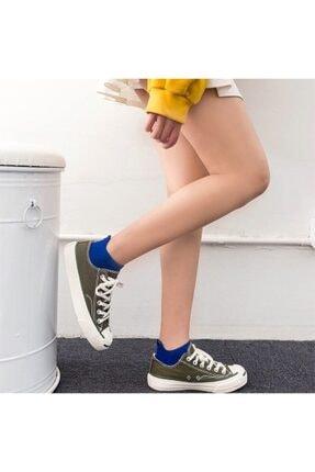 socksbox 8' Li Unisex Renkli Emojili Nakışlı Işlemeli Çorap 2