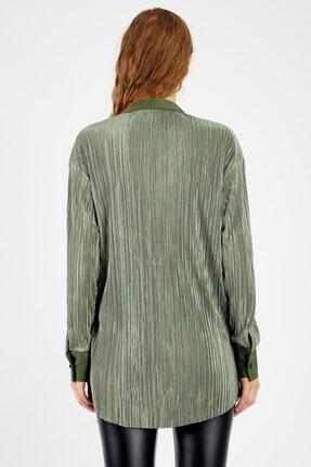 Manche Kadın Zümrüt Bluz 4