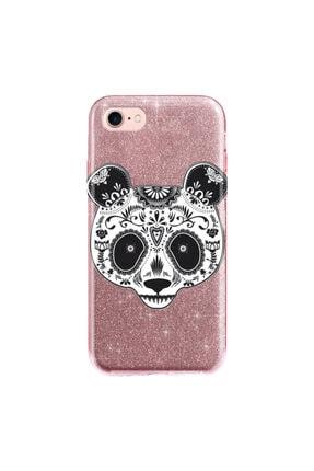 cupcase Iphone 6s Kılıf Simli Parlak Kapak Pembe Rose Gold - Stok518 - Pandass 0