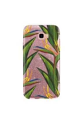 cupcase Samsung Galaxy A3 2017 Kılıf Simli Parlak Kapak Pembe Rose Gold - Stok101 - Doğa 0