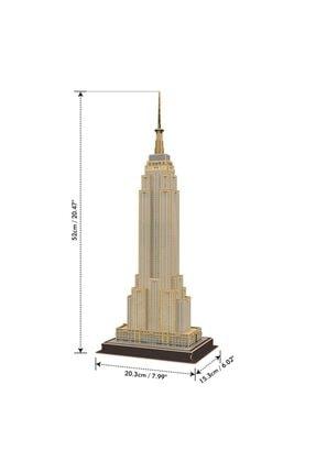 Cubic Fun 54 Parça 3d  Empire State Building Puzzle 1