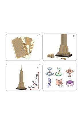 Cubic Fun 54 Parça 3d  Empire State Building Puzzle 2