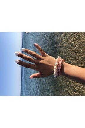 maiconsept Deniz Kabuklu Hasır Kalın Bileklik 03 0