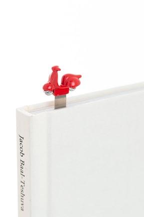 Metalmorphose Scooter Kitap Ayracı Kırmızı 1