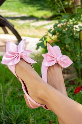 Fox Shoes Pudra Kadın Babet H726809004 2