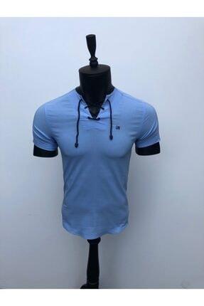 JİYAN Erkek Mavi Gömlek 0