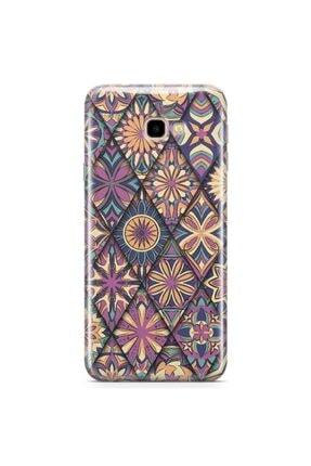 Zipax Samsung Galaxy J4 Plus Kılıf Motif 002 Desenli Baskılı Silikon Kilif - Mel-105234 0