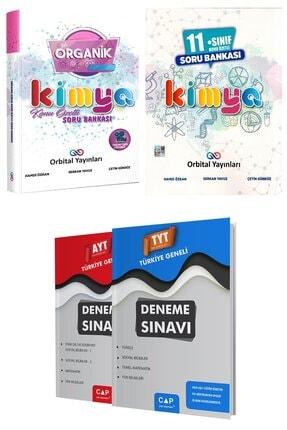 Orbital Yayınları Organik Kimya Soru Bankası + 11. Sınıf Kimya Soru Bankası + Deneme Seti 0