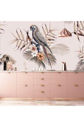 Bigaimaj Duvar Kaplama Folyosu Tropik Papağan 0