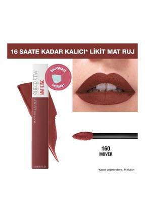 Maybelline Super Stay Matte Ink Pink Edition Likit Mat Ruj 160 Mover 3600531605643 0
