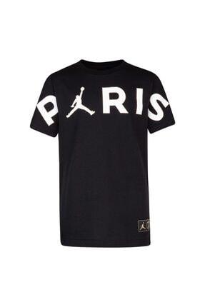 Nike Unisex Çocuk Siyah Nıke Jordan Jdb Psg Parıs Header T-Shirt 0