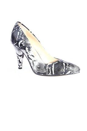 Dgn Kadın Gri Sivri Burun 11 Pont Topuklu Ayakkabı 20y 199 0