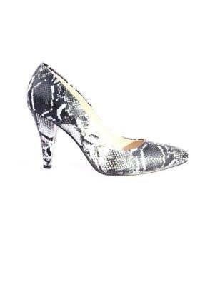Dgn Kadın Gri Sivri Burun 11 Pont Topuklu Ayakkabı 20y 199 1