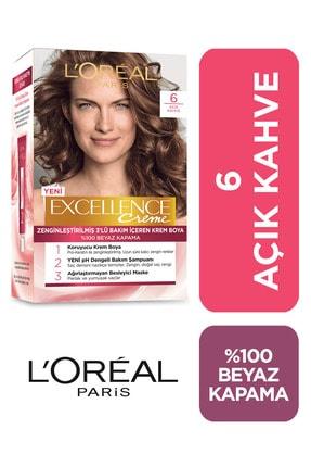 L'Oreal Paris Saç Boyası - Excellence Creme 6 Açık Kahverengi 3600523736652 2