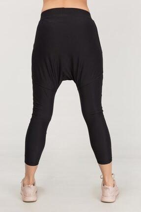 bilcee Siyah Yoga Kadın Şalvarı FS-1772 4
