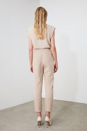 TRENDYOLMİLLA Bej Basic Pantolon TWOSS20PL0515 3