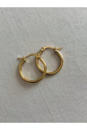 Hoop jewelery Çelik Mini Halka Küpe 0
