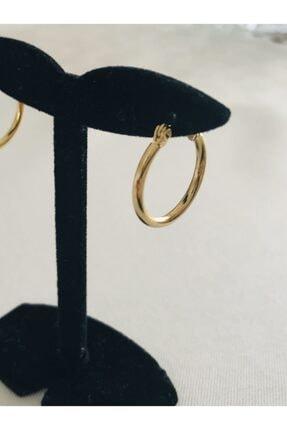 Hoop jewelery Çelik Mini Halka Küpe 2