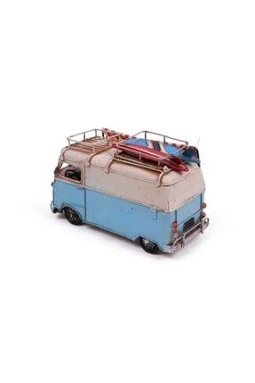 Hediye Mevsimi Dekoratif Metal Minibüs Çerçeveli Kalemlik Ve Tenteli 4