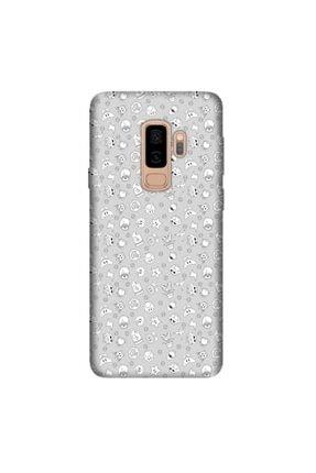 cupcase Samsung Galaxy J8 Kılıf Hd Silikon Koruma Heyoo Kapak + Nano Cam 0