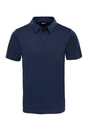 The North Face Erkek Lacivert Tanken Polo Yaka T-shirt 0