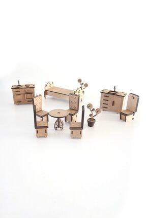 3D SERGİ 3d Ahşap Puzzle Ev Eşyaları Set 2 - 105 Parça 1
