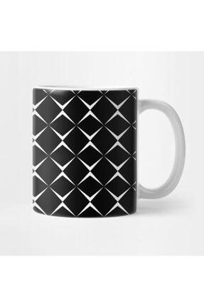 TatFast Black And White Square Pattern Kupa 1
