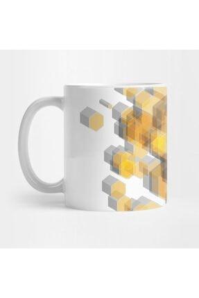 TatFast 3d Hexagon Background Vı Kupa 0